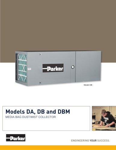 Models DA, DB and DBM