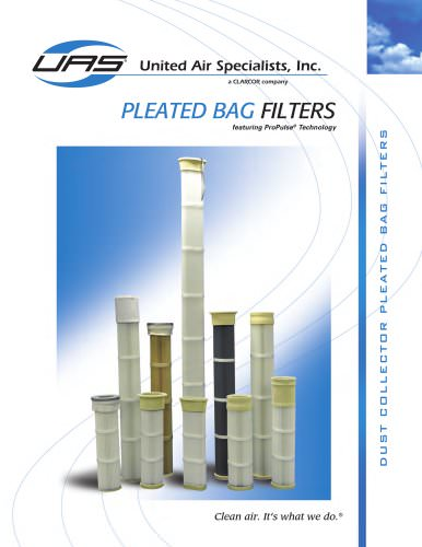 Pleated Bag Filters for Dust Collectors
