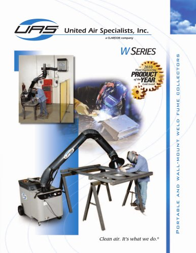 Portable and Wall-Mount Weld Fume Collector - W Series