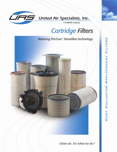 Replacement Cartridge Filters for Dust Collectors
