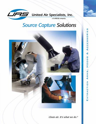 Source Capture Solutions - Extraction Arms, Extraction Hoods, Accessories