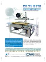 ICMI's taping machines for gummed paper CG25