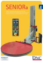 WRAPPING MACHINES LEAFLETS: Fully Automatic SENIOR-A