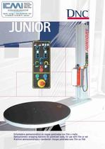 WRAPPING MACHINES LEAFLETS:Semi-Automatic JUNIOR
