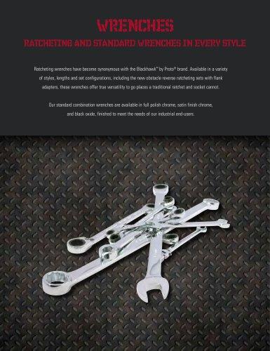 3//8 7//16 5//16 1//2-Inch Blackhawk By Proto BW-1341 4 Box Ratcheting Wrench