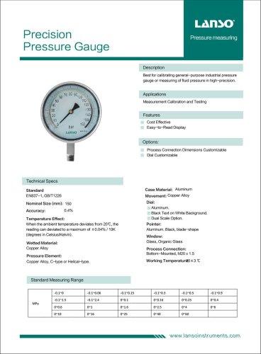 Precision Pressure Gauge