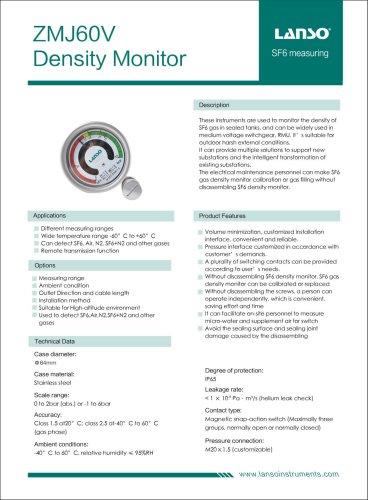 ZMJ60V Density Monitor