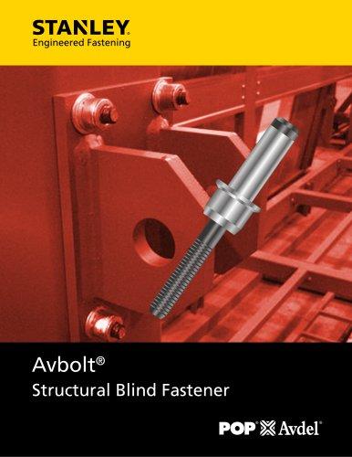 Avbolt Blind Structural Bolt NA imperial