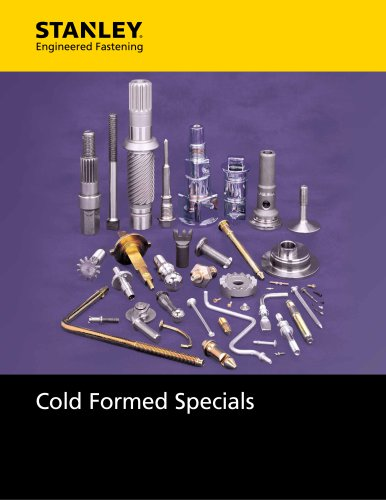 Cold formed Specials