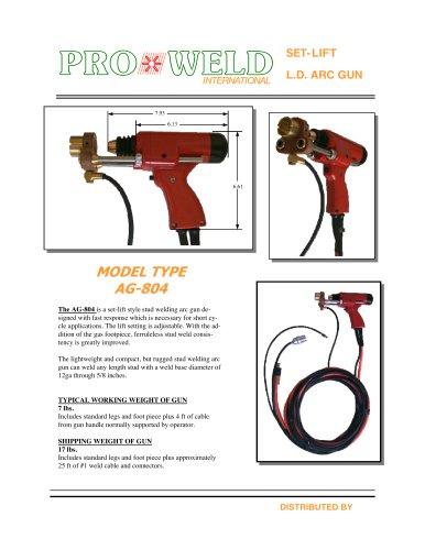 Pro Weld Model Type AG-804