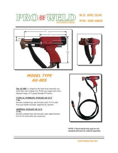 Pro Weld Model Type AG-805