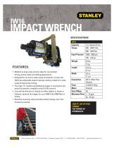 Impact Wrenches IW16