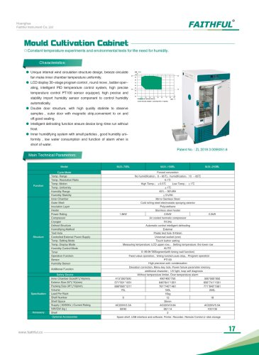 Mould Cultivation Cabinet