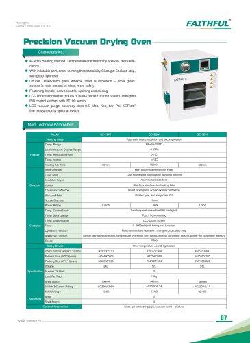 Precision Vacuum Drying Oven