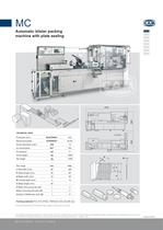 MC Automatic Blister Packing Machine