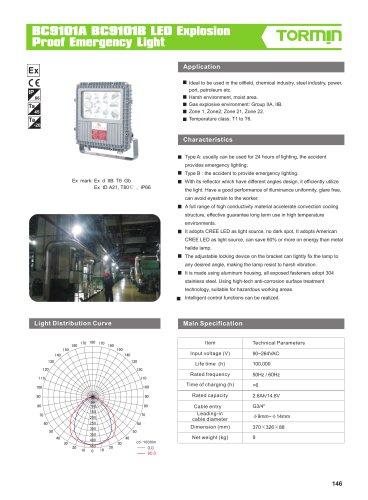 BC9101A BC9101B emergency fixed light