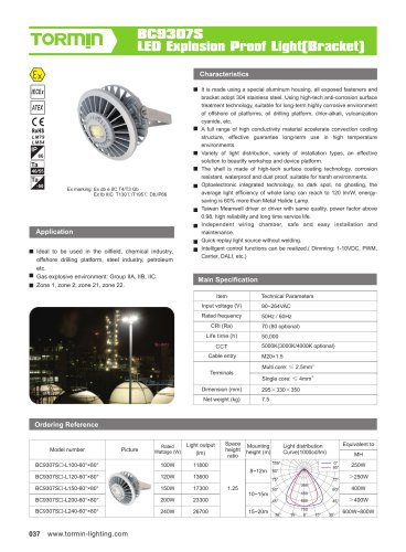 BC9307S explosion proof fixed light