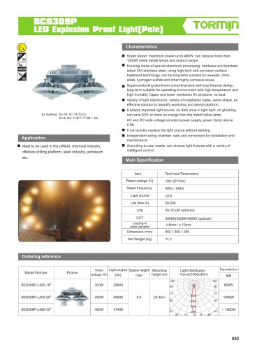 BC9309P explosion proof fixed light
