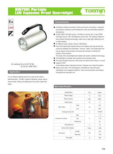 BW7101 portable light