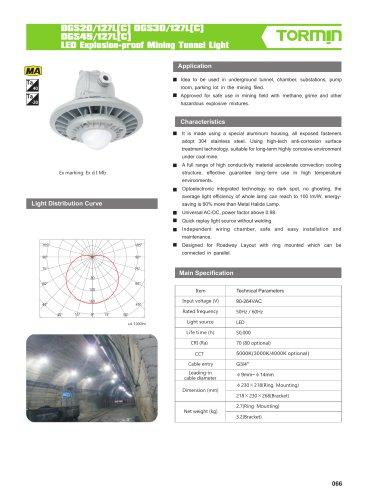 DGS20 30 45 127L C coal mine light