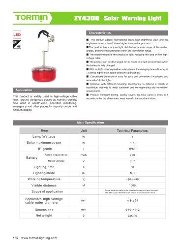 ZW4308 portable light