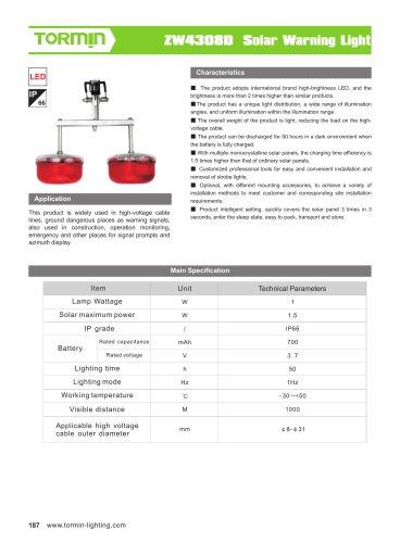 ZW4308D portable light