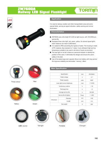 ZW7600A portable light
