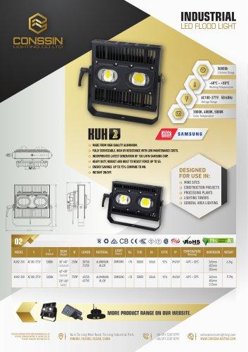 KUH2 Industrial Flood Light
