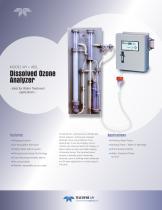 Model W1 + 465L Dissolved Ozone Analyzer