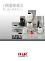 Rongwei (RNR) cable gland catalogue