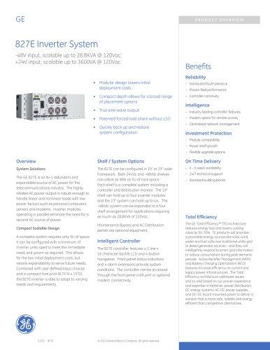 827E Inverter System