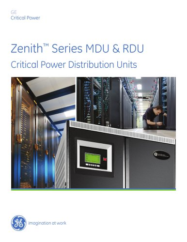 AC Power Products Overview - GE Critical Power