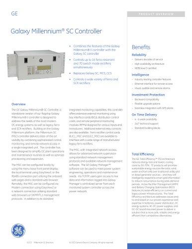 Galaxy Millennium® SC Controller