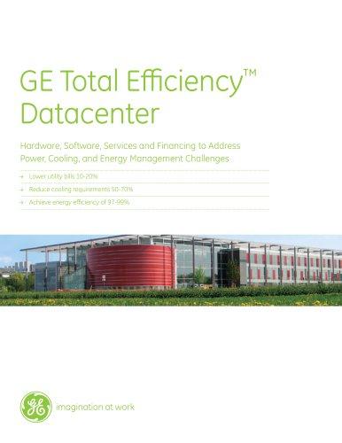 GE Total Efficiency? Datacenter