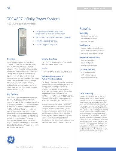 GPS 4827 Infinity Power System