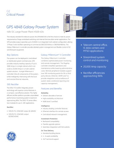 GPS 4848 Galaxy Power System