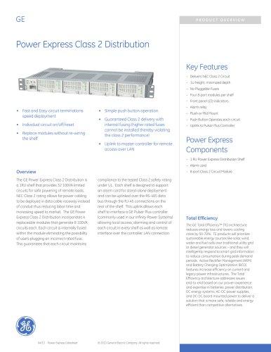 Power Express Class 2 Distribution