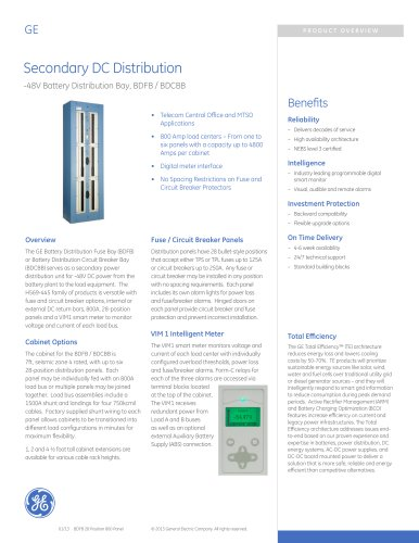 Secondary DC Distribution