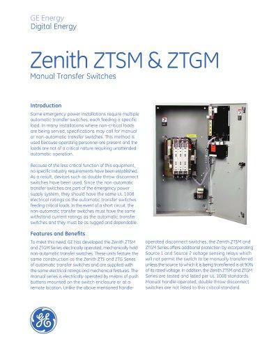 Zenith ZTSM& ZTGM