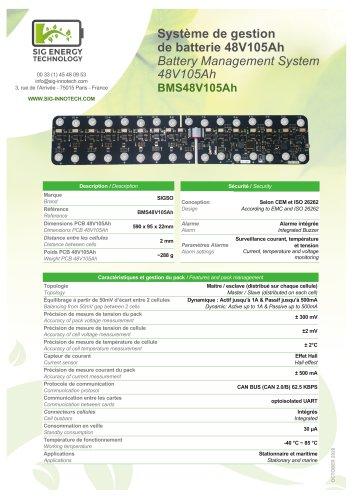 BMS 48V105Ah