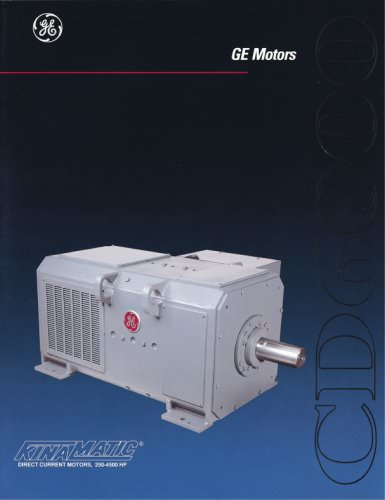 CD6000 Direct Current Motors, 250-4500 HP
