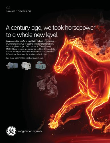 A century ago, we took horsepower to a whole new level
