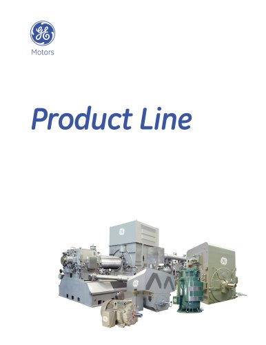 GE Motors - Product Line