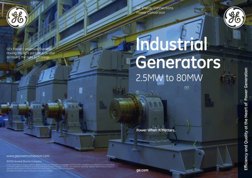 Industrial Generators - Power When It Matters