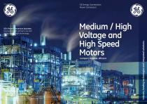 Medium / High  Voltage and  High Speed  Motors