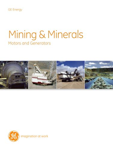 Mining and Minerals - Motors and Generators