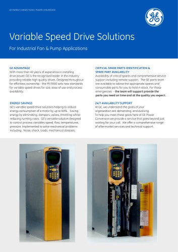 MV3000 BDM Variable Speed Drive