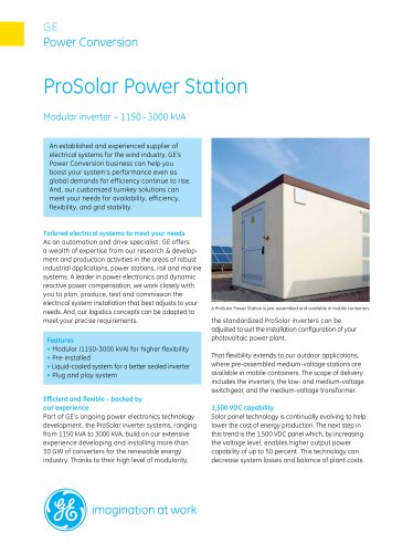 ProSolar Power Station
