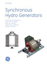 Synchronous Hydro Generators