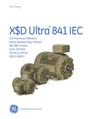 X$D Ultra841 IEC - IE3 Premium Efficient Extra Severe Duty Motors